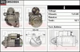 starter RENAULT CLIO Mk II 1.5 dCi - DELCO REMY DRS3904