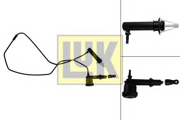 chit pompa/receptor,ambreiaj LAND ROVER FREELANDER 1.8 i 16V 4x4 - LuK 513 0066 10