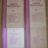 GAZETA MATEMATICA numerele 1 la 12 anul 1976 complet