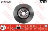 Disc frana VW GOLF VI 2.0 R 4motion - TRW DF4350S