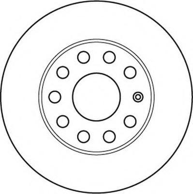 Disc frana VW GOLF VI 2.0 R 4motion - BENDIX 562238B