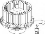 Electromotor, ventilatie interioara AUDI A4 limuzina 1.6 - TOPRAN 110 701