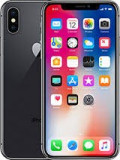 Iphone X 256gb space gri sigilat  codat orange, Negru