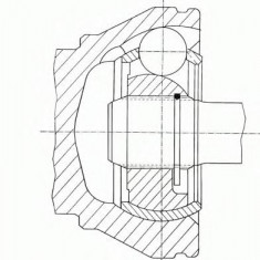 Articulatie, planetara FORD FIESTA Mk III 1.4 - SPIDAN 23738