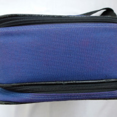 Geanta foto albastra