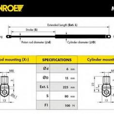 Amortizor gaz, masa pliabila RENAULT ESPACE  2.0 - MONROE ML5629