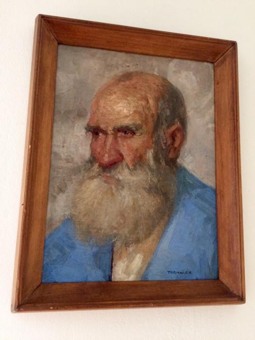 Tablou portret Tornai Gyula foto mare