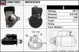 starter MERCEDES-BENZ ACTROS 1831, 1831 L - DELCO REMY DRS7320