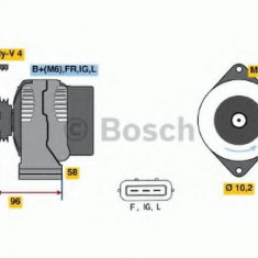 Generator / Alternator HONDA LOGO 1.3 - BOSCH 0 986 042 861