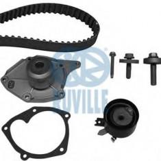 Set pompa apa + curea dintata RENAULT CLIO Mk II 1.5 dCi - RUVILLE 55581701