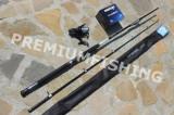 Lanseta Cormoran Seacor Blue Power Pilk 2.1 A : 100-250 + Mulineta Okuma Longbow