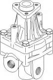 Pompa hidraulica, sistem de directie AUDI 100 limuzina 2.4 D - TOPRAN 113 536