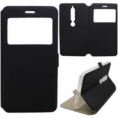 Husa Protectie Tip Carte Flip Cover Nokia 6.1 2018 foto