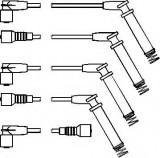 Set cablaj aprinder OPEL CALIBRA A 2.0 i - TOPRAN 202 527