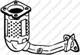 Catalizator PEUGEOT 206 hatchback 1.4 i - BOSAL 099-564