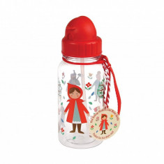 Sticla cu pai pentru copii Red Riding Hood 500 ml