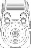 Radiator ulei, ulei motor AUDI A3 1.9 TDI - TOPRAN 112 203