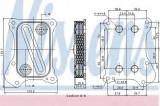 Radiator ulei, ulei motor SUZUKI SWIFT IV 1.3 DDiS - NISSENS 90700