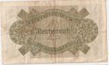 GERMANIA 2 REICHSMARK 1944 VF