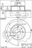 Disc frana ALFA ROMEO 168 2.0 T.S. - BREMBO 08.3126.14