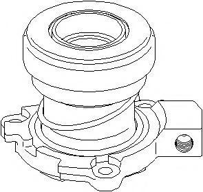 Rulment de presiune, ambreiaj OPEL VECTRA C 2.0 DTI 16V - TOPRAN 206 152