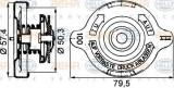 buson,vas expansiune - HELLA 8MY 376 742-181