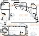 Vas de expansiune, racire MERCEDES-BENZ E-CLASS limuzina E 220 D - HELLA 8MA 376 755-121