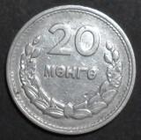 Mongolia 20 mongo 1959, Asia