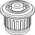 Suport, transmisie manuala AUDI 500 2.0 - TOPRAN 103 659