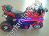 Motocicleta copii 2-6 ani cu Led,2 motoare MT12