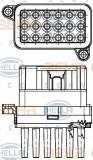 Reglaj, suflanta de interior FORD MONDEO IV limuzina 1.6 Ti - BEHR HELLA SERVICE 5HL 351 332-341