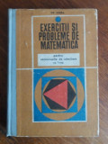 EXERCITII SI PROBLEME DE MATEMATICA PENTRU ATMITERE IN LICEE GR.GHEBA 1971