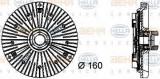 Cupla, ventilator radiator AUDI A8 limuzina 4.2 quattro - BEHR HELLA SERVICE 8MV 376 733-031
