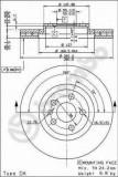 Disc frana FIAT ULYSSE 2.0 Turbo - BREMBO 09.5180.24