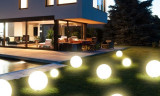 Lampa solara LED de gradina Grafner 30cm ID539