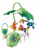 Carusel muzical pt patut Fisher-Price Fisher-Price Rainforest Peek-A-Boo Leaves, ID292