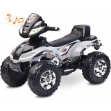 ATV Electric Toyz Quad Quatro 6V Grey, Gri