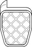 Pozitie pedala, pedala ambreiaj AUDI A3 1.8 - TOPRAN 109 999