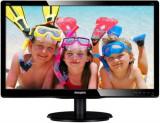 Monitor LED Philips 19.5inch 200V4QSBR/00, Full HD (1920 x 1080), VGA, DVI-D, 8ms GTG (Negru)