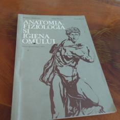 Anatomia, Fiziologia Si Igiena Omului - Mandrusca, 1984