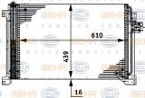 Condensator, climatizare IVECO Stralis AS 440S48 - HELLA 8FC 351 317-631