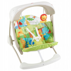 Leagan si fotoliu 2in1 Fisher Price Rainforest Friends Take Along, ID273