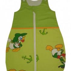 Sac de dormit 0.5 tog Donald 85 cm, 6-12 luni, Verde, KidsDecor