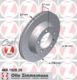 Disc frana PORSCHE BOXSTER Spyder - ZIMMERMANN 460.1528.20