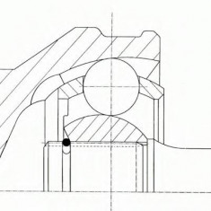 Set articulatie, planetara FIAT TIPO 1.9 TD - SPIDAN 21238