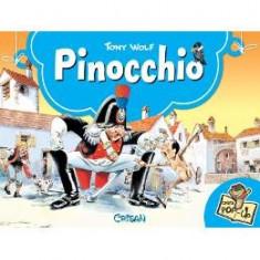 Pinocchio. Carte Pop-up - Tony Wolf