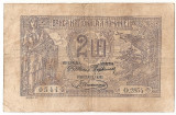 ROMANIA 2 LEI 1920 F