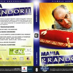 Mania grandorii, DVD, Romana