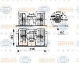 Ventilator, habitaclu RENAULT TRUCKS Magnum AE 385ti.18 - HELLA 8EW 009 157-481