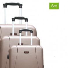 Set 3 valiza tip troler Hero Lanzarote 75cm ID545